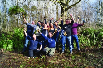 Volunteers at Norbury Park