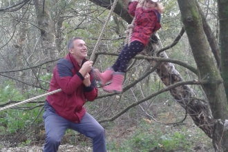 Wild Families swing rope