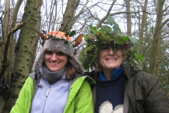 Forest School natural crowns