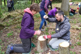 Forest School taster palm drill