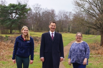 Jeremy Hunt Rodborough Common