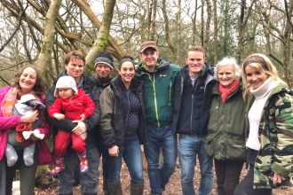 Countryfile at Nower Wood