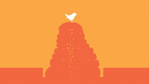 Drystone wall illustration banner