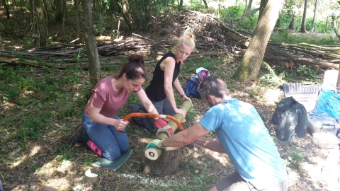 Forest School Level 2 training
