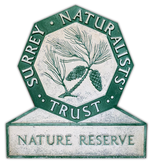 Surrey Naturalists Trust Sign