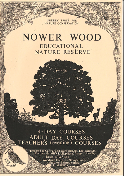 Nower Wood Educational Nature Reserve Adult Learning Booklet 1980