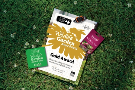 Surrey Wildlife Garden Award 2019 prize