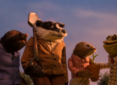 Wind in the Willows gang